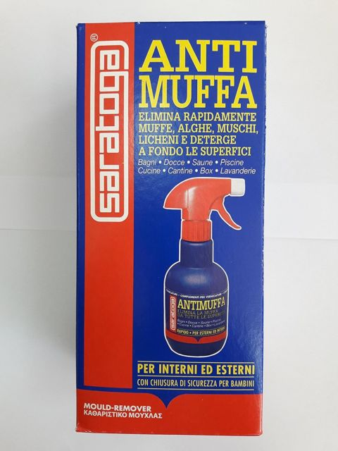 Antimuffa Spray Per Pareti.Antimuffa Spray Saratoga Lt