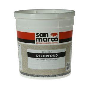 Pittura di fondo per MURATURA da INTERNO, DECORFONDCOLORIFICIO SAN MARCO